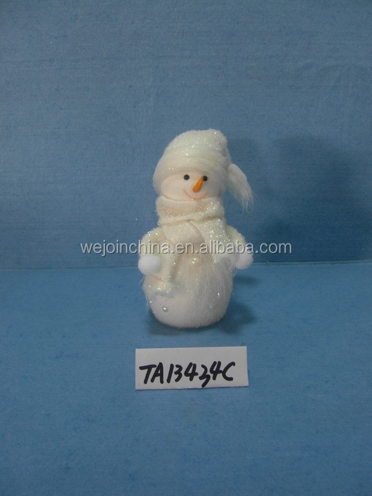 Christmas Styrofoam Snowman Decoration