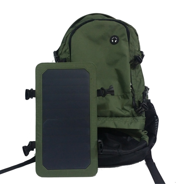 China manufacture accept custom designs complete off-grid panel solar backpack