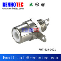 Silver RCA Female Jack Connector China Supplier