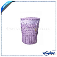 lined wicker basket wholesale