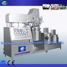 stainless steel vacuum emulsifying mixer for cosmetics Making, homogenizer mixing