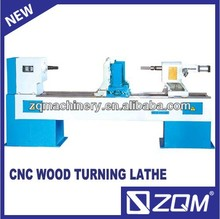 single axis & double knives CNC wood turning lathe