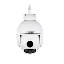 Outdoor Mini PTZ Dome 2MP HD Two Way Audio Wireless IP Camera PTZ CCTV Surveillance 50M Night vision