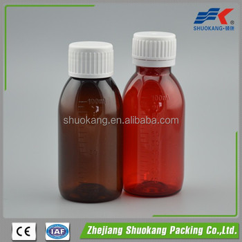 China supplier provide plastic pill bottle mini liquor bottle pet bottle