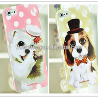 FL2337 2013 Guangzhou hot selling lovely puppy dog case for iphone 5 5G