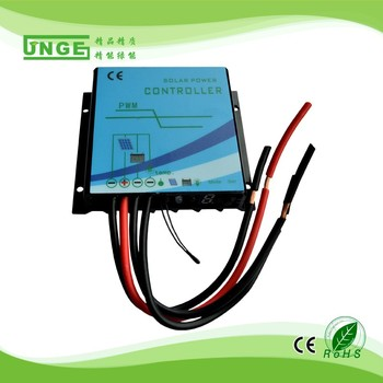 12v/24v 5A-20A solar system pwm solar controller waterproof type solar controller High quality 3 years warranty