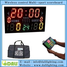 hot selling LED Sports Game Scoreboard and Timer for Basketball