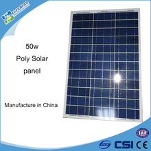 Small size 50w solar panel manufacturers in China