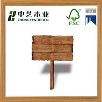 2015 year factory suppliers FSC handmade Wood Crafts Signs for wholesale