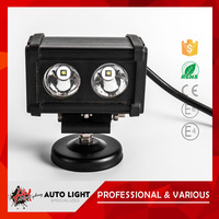 Low Price Aluminum Housing Multifunction 20W Led Headlight Ip67 Universal Led Waterproof Bar For Suv Off Road Jeep Marine