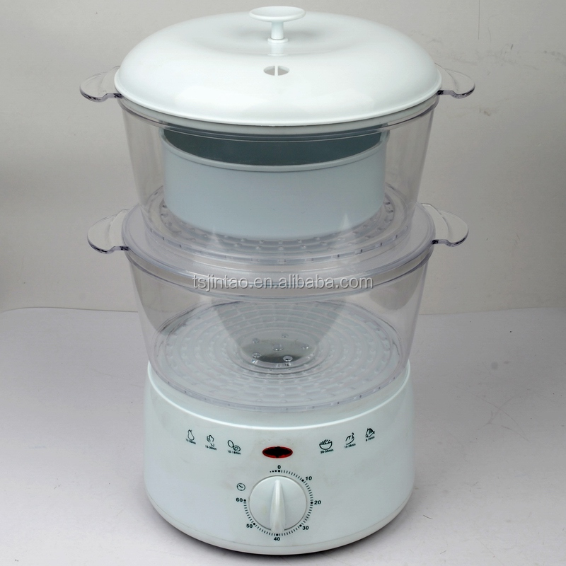 2-layer mini food steamer with GS CE ROHS LFGB KC certificate