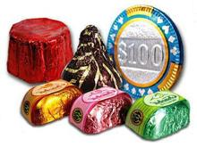 Chocolate paper,Aluminum Foil Paper Sheets for Chocolate Packaging