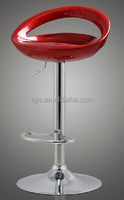classical ABS bar stool with height adjustable and swivel fuction