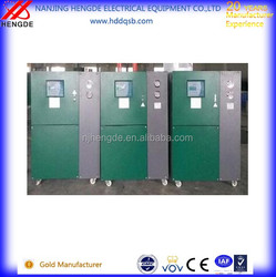 Industrial chiller for plastic shredder