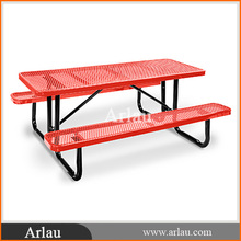 plastic picnic table and bench
