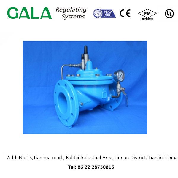 Chinese OEM professional GALA 1342 Flow Control and Pressure Reducing Valve for water