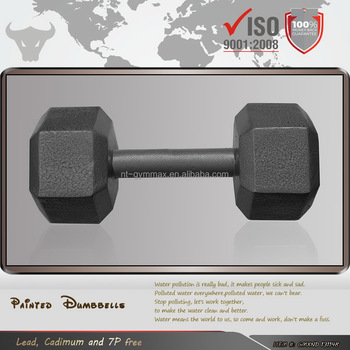Hammer Tone Strength Solid Cast Iron Dumbbells
