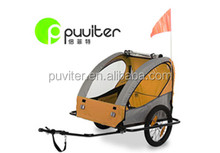 Factory Directly Pet Bike Trailer Dog bike trailer Cat Bicycle Pram Stroller Jogger Foldable(PT002)