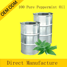 OEM/ODM Pure private label peppermint Essential Oil therapeutic grade for aroma massage oil whole sale price 180KG
