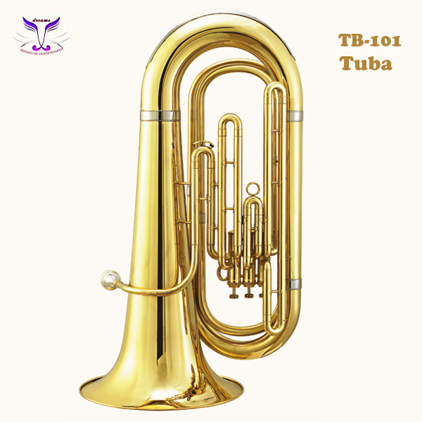 Jinbao musical instruments red tuba