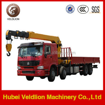 8x4 Truck Mounted Hydraulic Crane (Loading Capacity: 15-20 tons)
