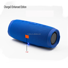 2017 hot selling wireless portable outdoor charge 3 Enhanced Edition blue tooth speaker