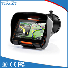 United States 4.3 Inch GPS/GSM Waterproof Motorcycle GPS Navigator with Bluetooth