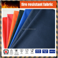 Nomex Wholesale China cheap price inherently flame retardant antistatic aramid plain fabric for protective FR clothing