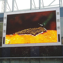Best selling outdoor led banner display with waterproof