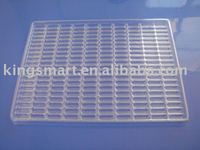 clean vacuum formed blister tray