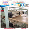 turn key project running production pvc wpc hollow door panel board production line