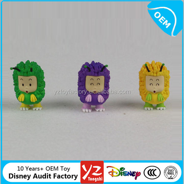 novelty mini plastic animal small figure toys for kids in different colors