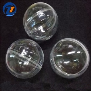 Openable Transparent Plastic Christmas decoration ball, open ball for Home Christmas decoration