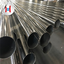 ASTM A554 polished decorative 304 <strong>stainless</strong> steel pipe
