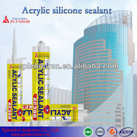 weather-proof silicone sealant/anti-fungal acrylic sealant/glass adhesive/glue