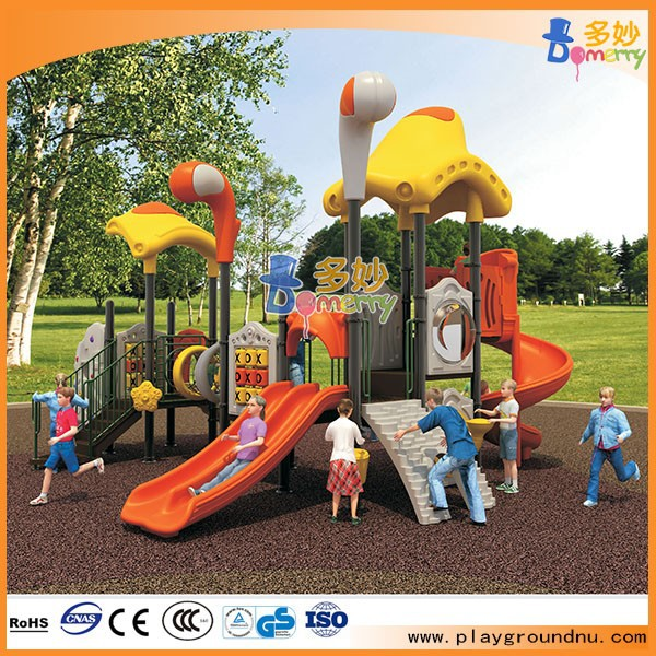 2018 Drop shipping Used commercial kids plastic outdoor playground equipment