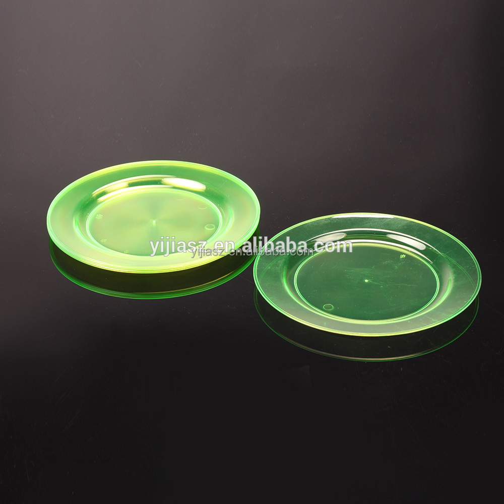 "9"" PS disposable round Plate with food grade certification"