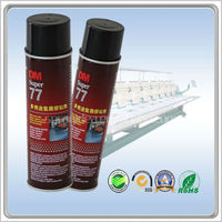 DM-77 spray adhesive for textile printing binders