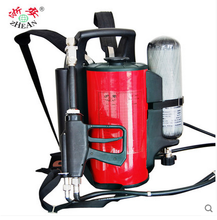 Fire fighting Backpack water mist fire extinguishing gun