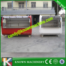 High Quality Mobile Food Carts Hot Dog Carts with 2.8M