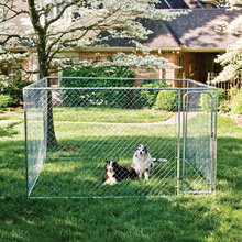 Metal frame Weld wire mesh Dog Kennel runs