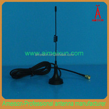Antenna Manufacturer 3dBi High Gain Mobile 433mhz magnetic mount spring base antenna
