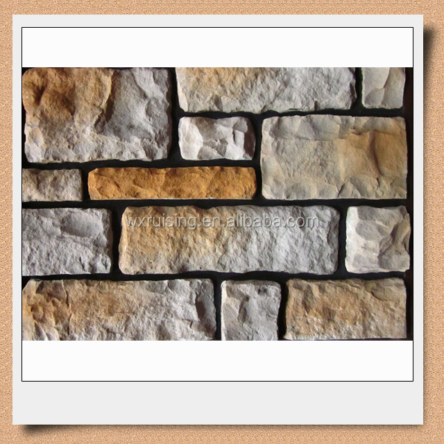 Artificial stone wall materials for wall decoration