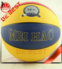 Bebest size 7 basketball made in china golf rubber basketball factory produce stock basketball