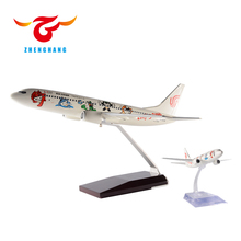 Boeing B737-800 airplane model 16/20/32/40/49cm resin plane model customized all scale options airlines souvenir aircraft