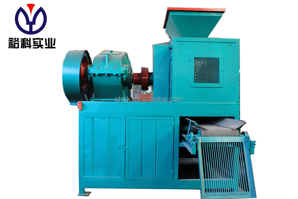 Hydraulic sawdust briquette press machine ball