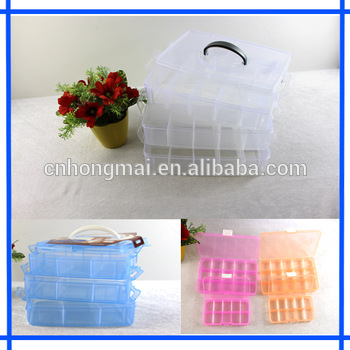 Leather wine carrier clear plastic box