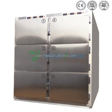 YSSTG0106 dead body cold storage chamber mortuary freezer