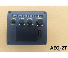 High quality acoustic rohs guitar pickup parts with tuner AEQ-2T