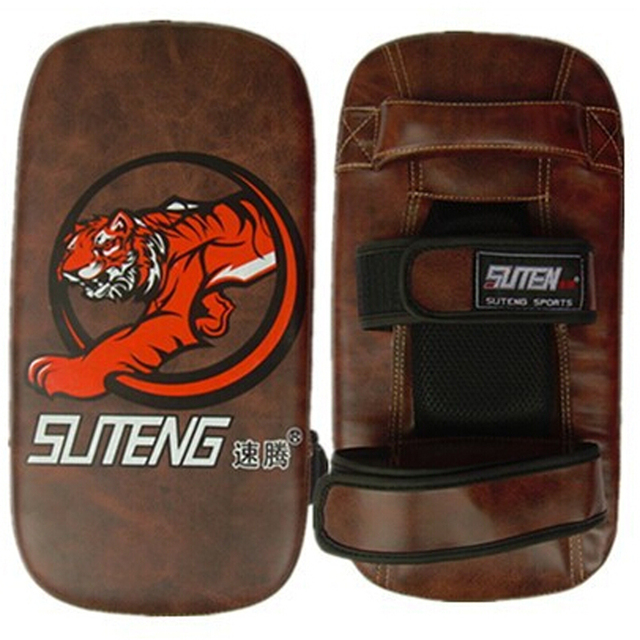 Good Quality Kick Training Pad alvo de Boxe Punching Bag Foot Target Mitt MMA Muay Thai Wushu Karate Fight Boxing Sparring Pad